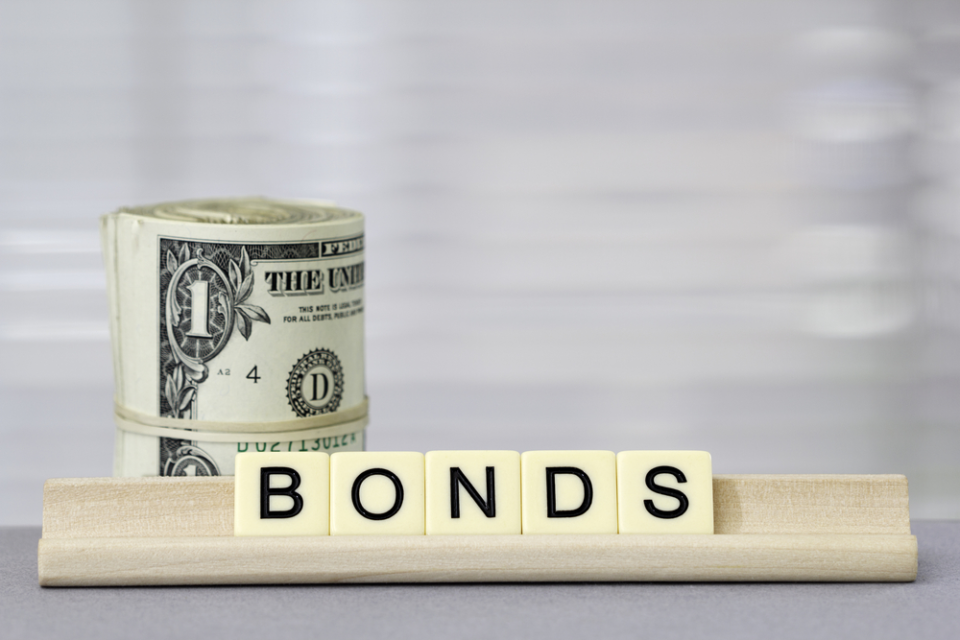 Bonds and money scrabble